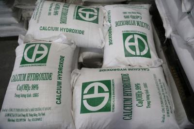 Vôi bột Công nghiệp – Ca(OH)2- 98%